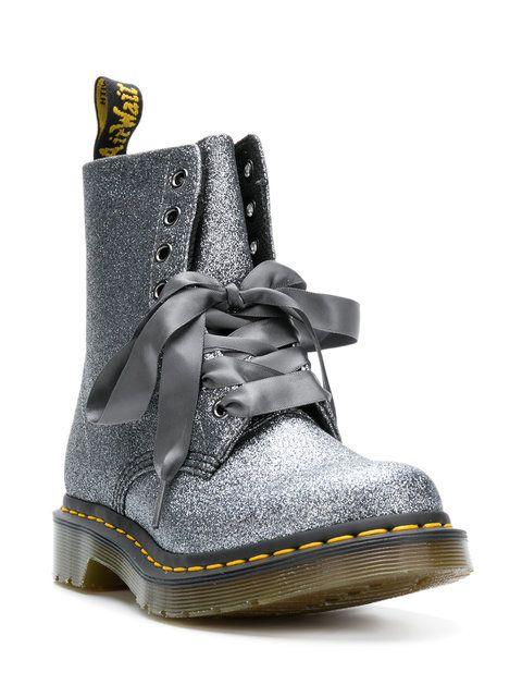 6863e516b66d Купить Dr. Martens 1460 Pascal Glitter boots