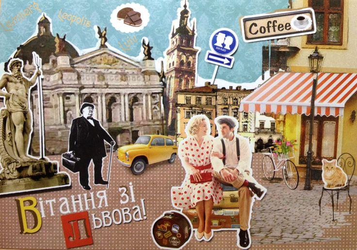 Postal de Ruslana, desde Ucrania :)
