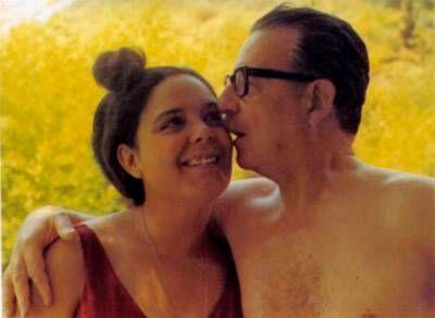Salvador Allende y su hija Tati