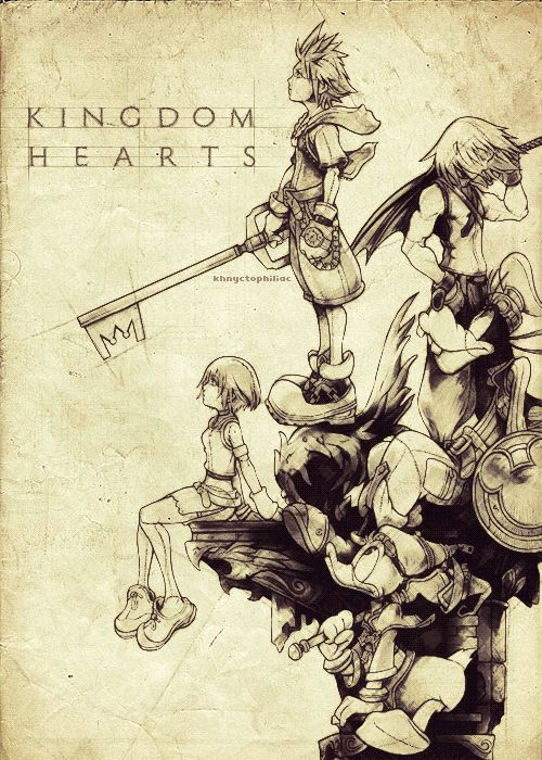 the game Kingdom Hearts is s game made by Disney and square enix that show a boy name sora going through the Disney words and it inspired me to make video game for square enix and make games that i enjoyed making playing playing.