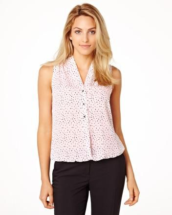 Pin dot bubble blouse RW&CO. Pre-Fall 2014 Collection