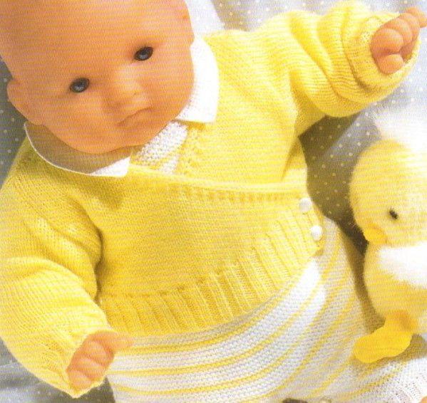 [Tricot] Le cache-coeur pour bébé - La Boutique du Tricot et des Loisirs…