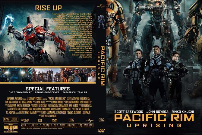 Pacific Rim Uprising 2018 Dvd Custom Cover Custom Dvd Dvd Cover Design Dvd Covers