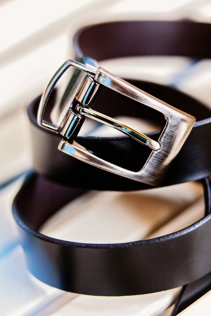 A detail of the groom's belt
