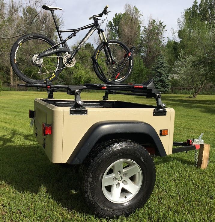 Jeep Trailer Blog With Images Jeep Trailer Jeep Towing Trailer