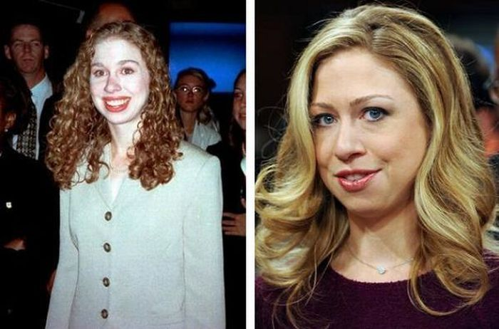 Chelsea Clinton's Smarts    Chelsea Clinton is the only child of President Bill Clinton and his wife, two-time Presidential candidate Hillary Clinton. Chelsea was twelve when her father won the presidency and subsequently had to face her awkward teenage years while her dad was in office. The media took aim at Chelsea even criticizing her looks, which is unfortunate because it is hard enough being a teenager much less one that is growing up in the public eye.