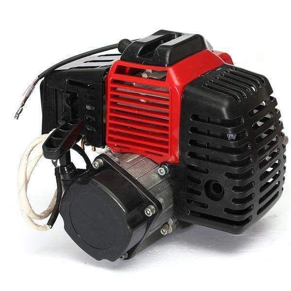 Buy 49cc 2 Stroke Motor Engine Cylinder Pull Start For Mini Pocket
