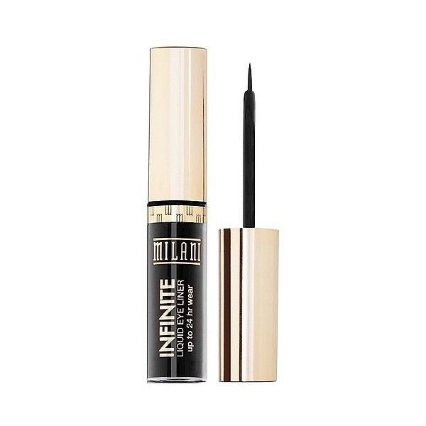 Milani Infinite Liquid Eye Liner ($5.99) ❤ liked on Polyvore featuring beauty products, makeup, eye makeup, eyeliner, everlast, milani eyeliner, liquid eye-liner, liquid eye liner, liquid eyeliner and eye makeup remover