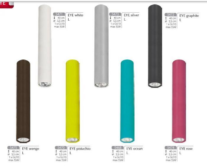 Oprawa sufitowa EYE L Nowodvorski (kolor do wyboru) - Cudowne Lampy