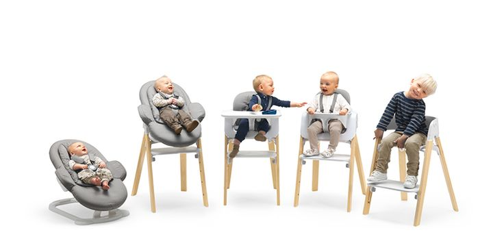 COMING SOON Stokke® Steps All-in-One System | Bouncer & Highchair | Newborn-Childhood - Stokke®