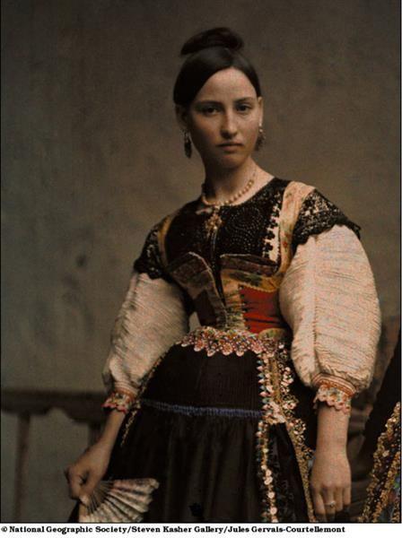 Национальные костюмы испанок