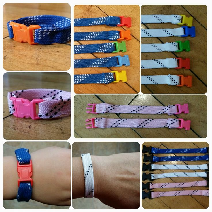 I've made up some of these cute little hockey skate lace bracelets as a fundraiser for my daughter's 12U girls hockey team. She's a first year player but working her buns off to catch up to the oth...