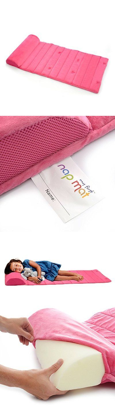 Bed Pillows 180907: My First Nap Mat Memory Foam Nap Mat Pad Attached Removable Pillow Pink -> BUY IT NOW ONLY: $47.17 on eBay!
