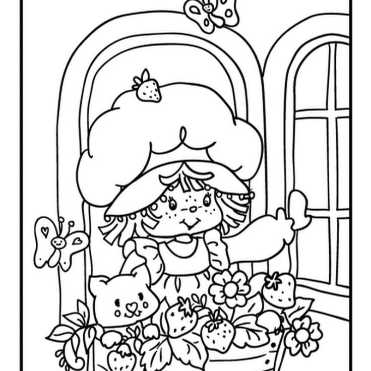 Desenhos para colorir desenhos da Moranguinho desenhos gratuitos desenhos grátis dibujos colorear