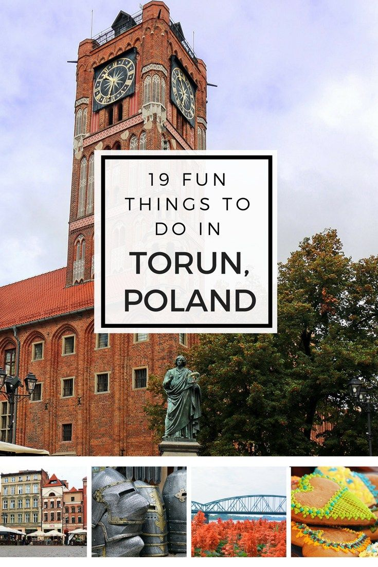 A List of 19 Fun Things To Do in Torun, one of Poland's medieval gems!