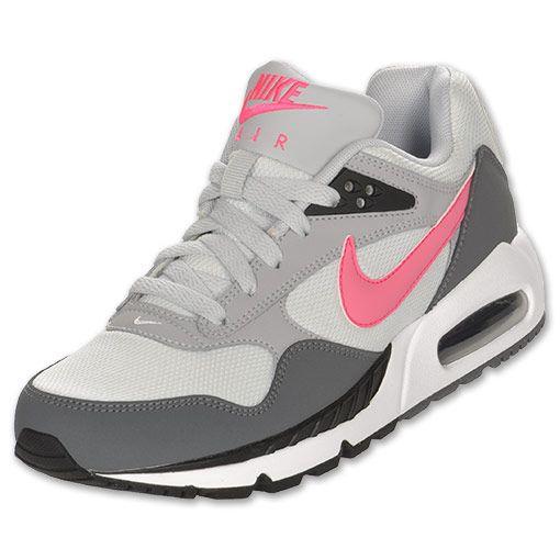 Nike Air Max Correlate Women's Running Shoes| FinishLine.com | Pure Platinum/Flask Pink/Flat Grey