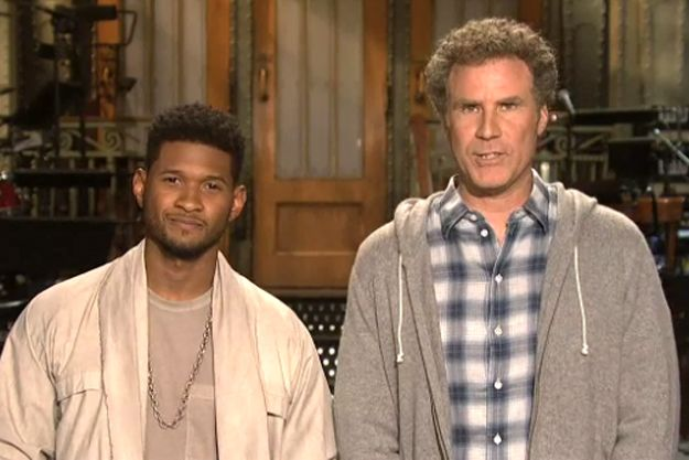 "Usher Makes SNL ""Scream"" and ""Climax"" For His Faux-Hawk: Ushers Brought"
