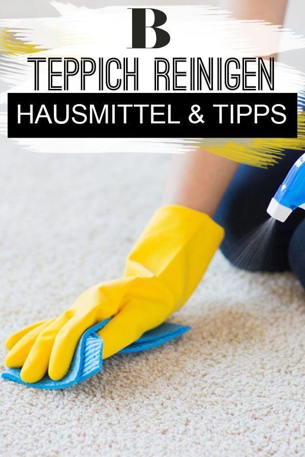Teppich reinigen: Hausmittel und Tipps | Haushalt | Teppich ...