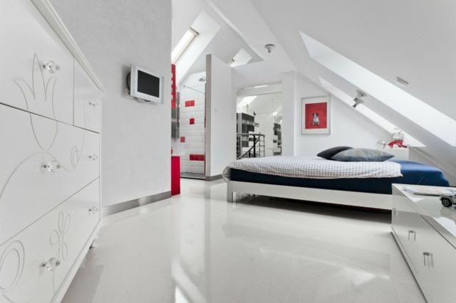 Aménagement des combles pour une jolie chambre sous toit