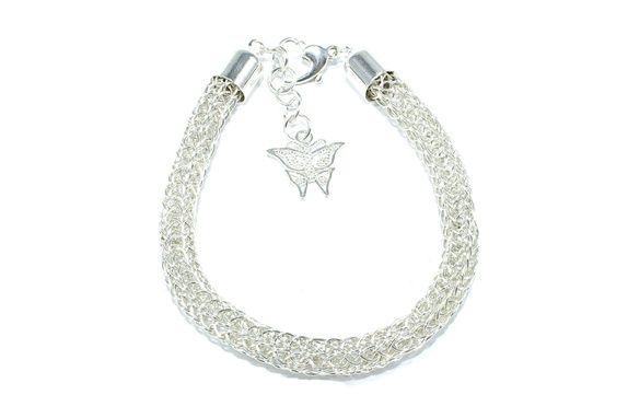 Eplabiter - Sterling silver bracelett in viking knitt Sterling sølv armbånd i Vikingstrikk http://epla.no/shops/trendsmykker/