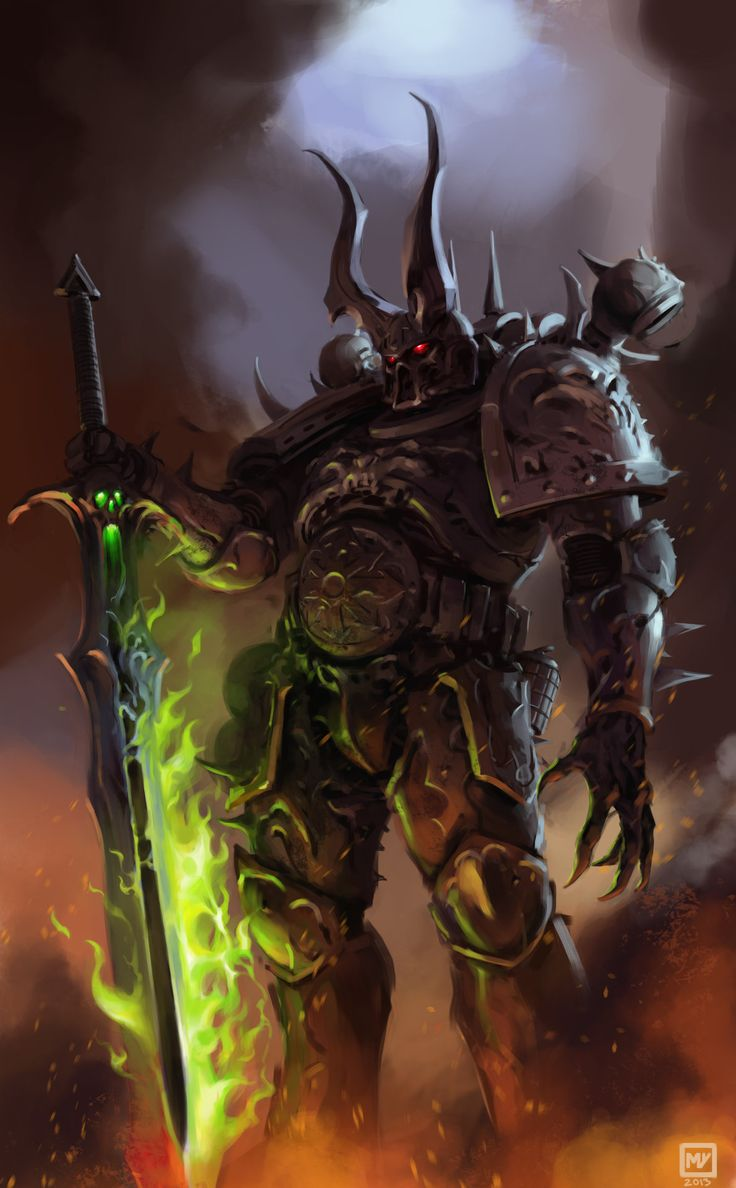 """anononiagent: """"Lord of Destruction by Miguel Iglesias """""""