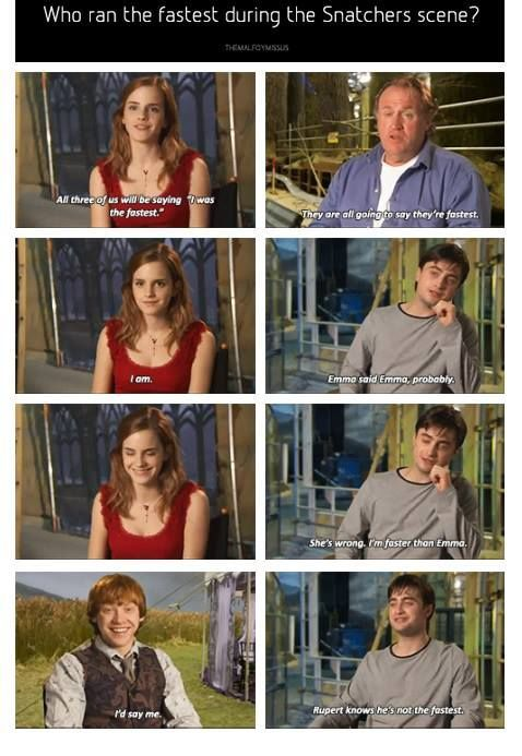 harry potter cast funny interviews - Google Search