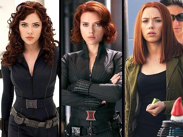 Natasha Romanoff: (Iron Man 2, 2010). (Los vengadores, 2012). (Capitán América y el soldado del invierno, 2014).