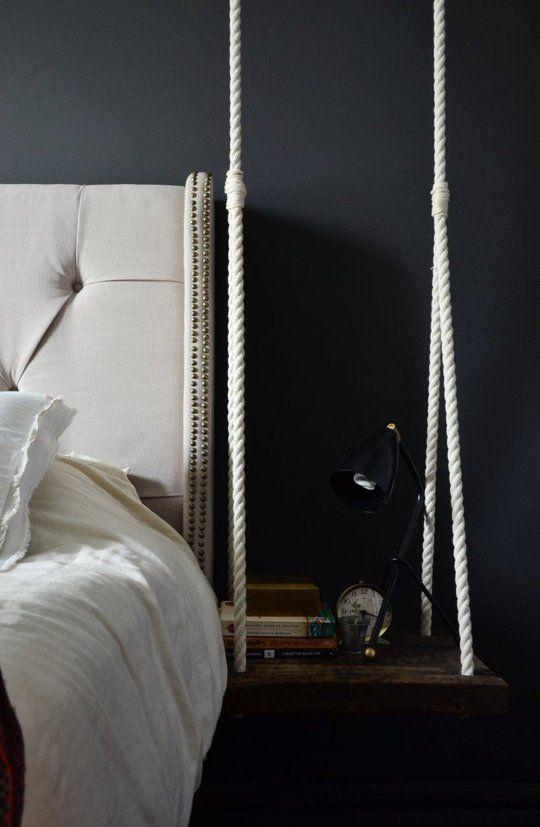 Add bedside swing table!