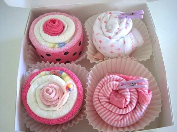 Cupcake onesies baby shower ideas pinterest gifts baby girls and babies