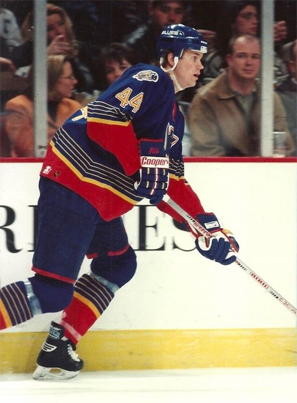 Chris Pronger | St. Louis Blues | NHL | Hockey