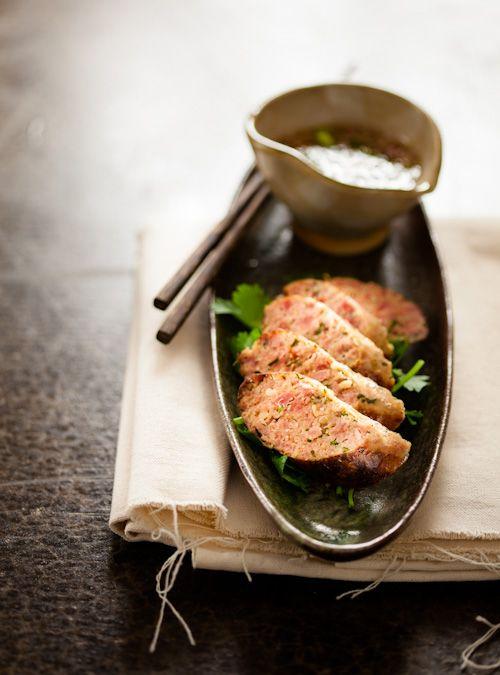 Recipe: Thai Smoked Sausage (Fish Sauce, Coconut Cream)|ナムプラーとココナツクリーム入り タイ風ソーセージ