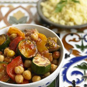 chickpea stew with eggplants, tomatoes and peppers | souper douper ...