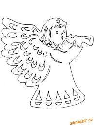 vystrihovačky anjel
