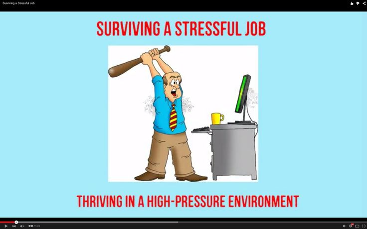 Surviving a Stressful Job http://www.brightonsbm.com/news/surviving-stressful-job-2/