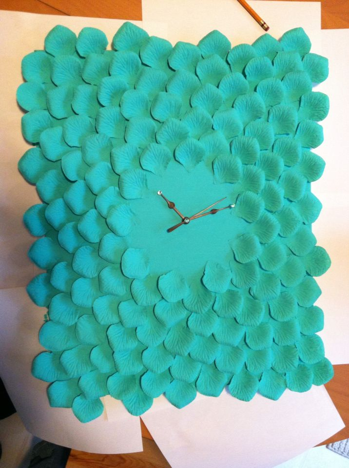 Clock home made by me