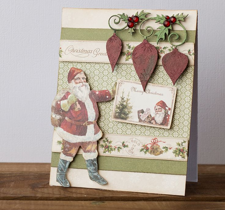 A Christmas card by Teresa. Paper collection: Christmas in Norway