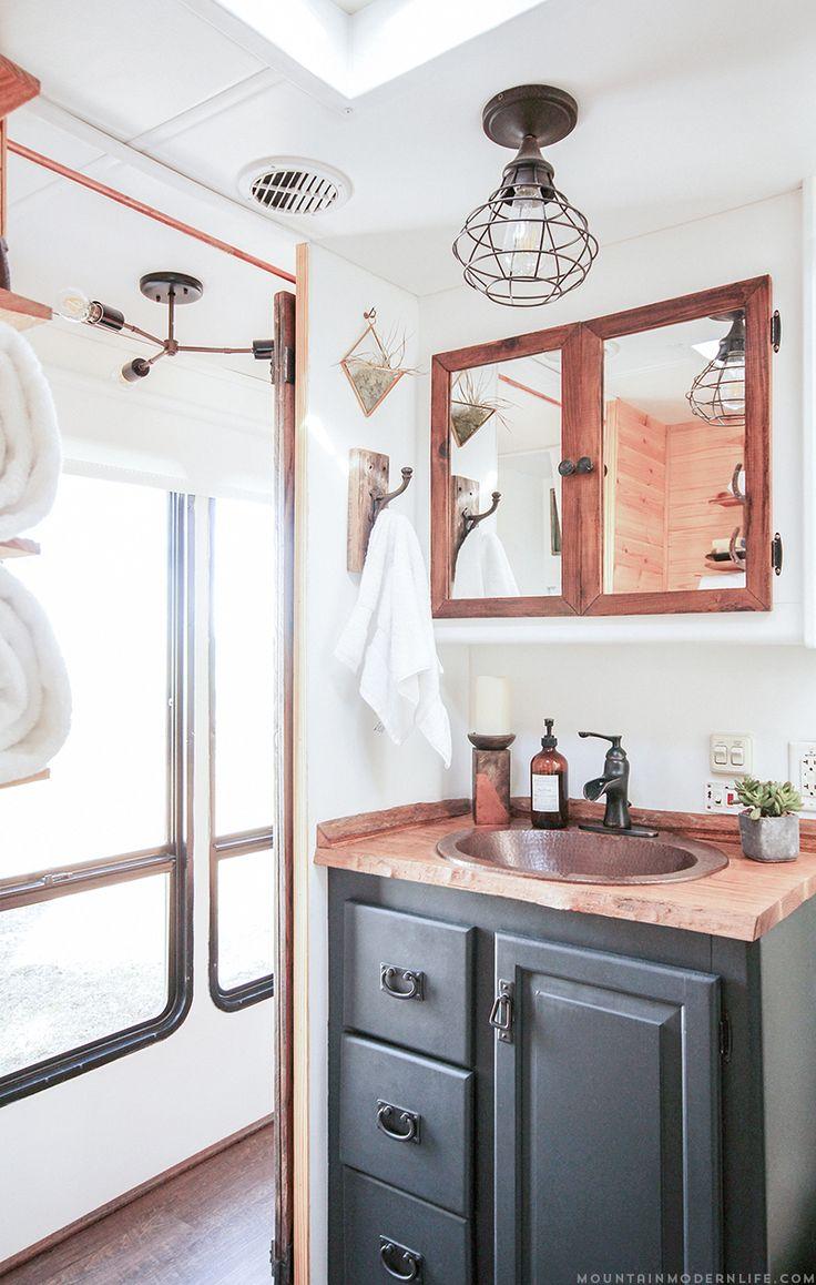 17 best ideas about rv bathroom on pinterest   rv organization