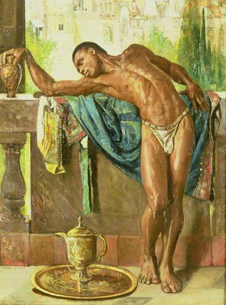 'The Slave' by Gyula Tornai (1861-1928, Hungary)