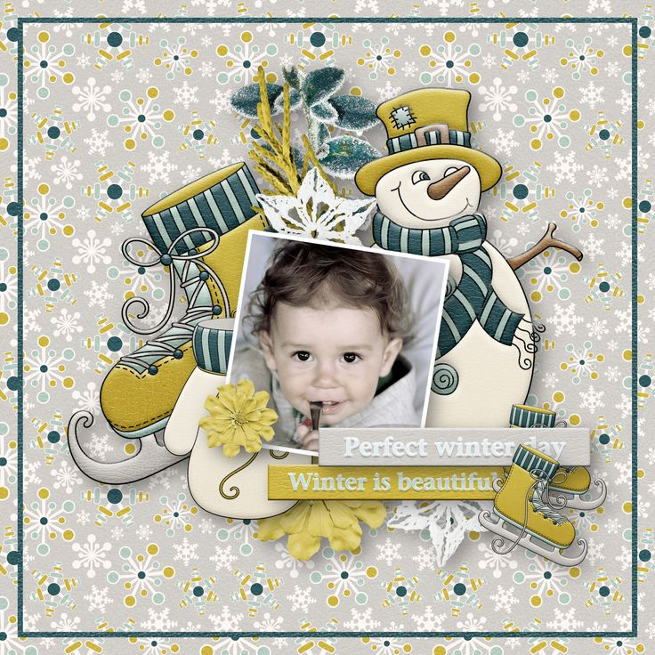 """Winter Days"" by Aurélie Scrap, http://withlovestudio.net/shop/index.php?main_page=product_info&cPath=3_391&products_id=8833#.WCUQgbXU4l8, photo Adina Voicu, Pixabay"