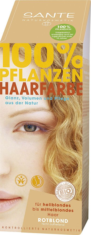 Sante Herbal Hair Color Natural Plant Hair Color