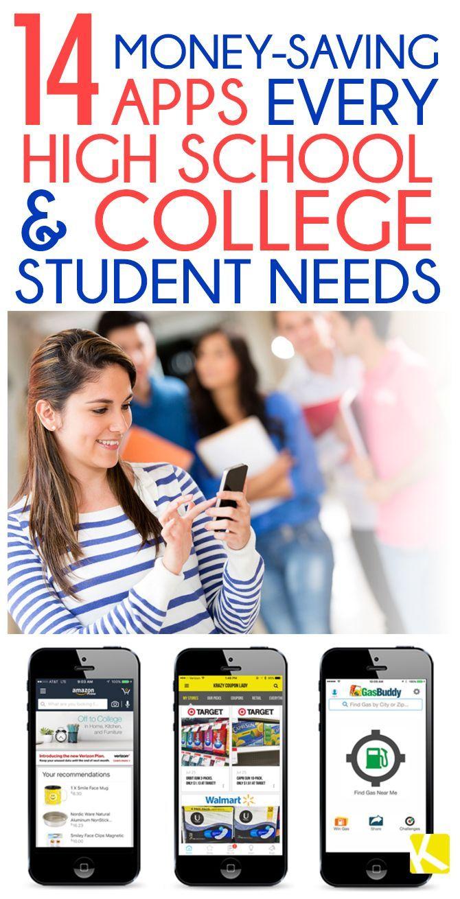 14 Money-Saving Apps Every High School