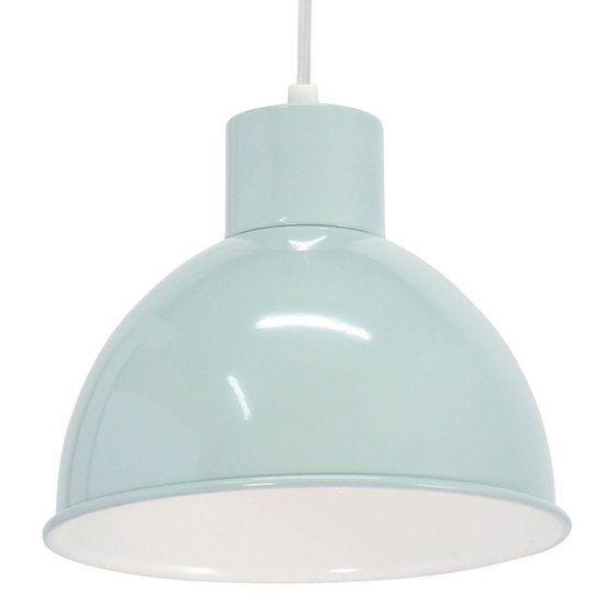 EGLO Vintage Truro 1 - Hanglamp - 1 Lichts - Mint