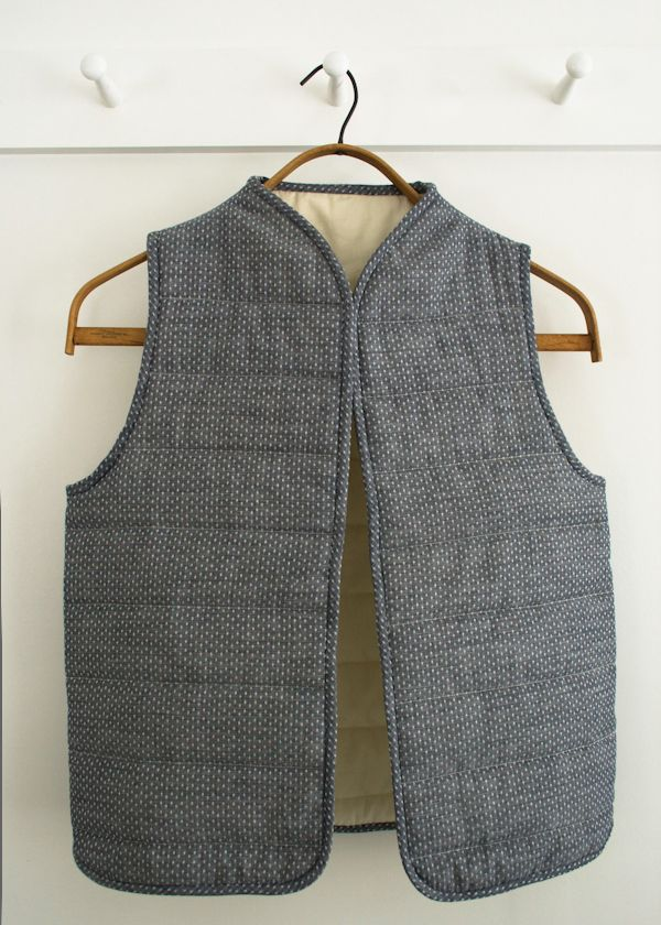Corinne's Thread: Quilted Vest