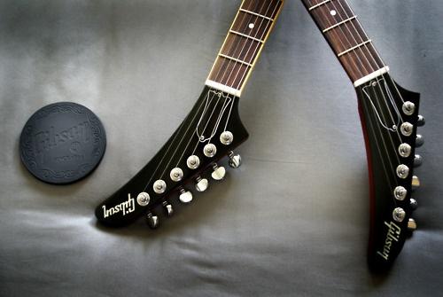 Gibson Explorer headstocks