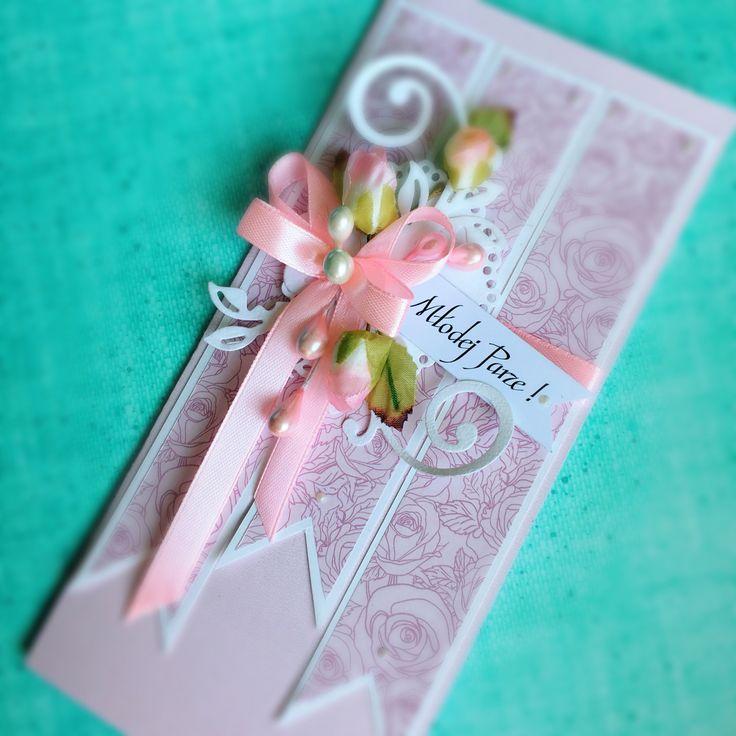 Kartka ślubna wedding card