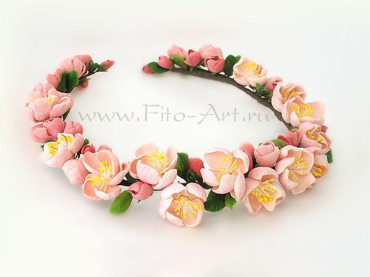 """Wreath """"Flowers of apple trees"""" - Fito-Art.ru"""