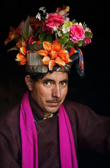 Man drokpa in Ladakh , India  - Photograph by Alison Wright
