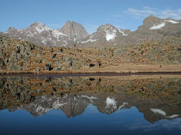 Mount Kenya — September, 2002