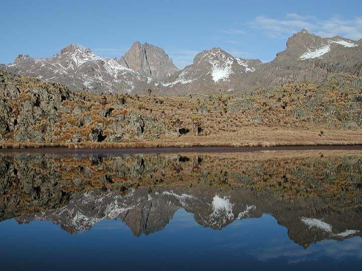 Mount Kenya — September, 2002