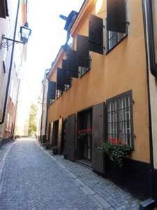 Old Town Lodge in Stockholm, Sweden.  Our hotel.